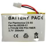Hitech - Replacement Cordless Phone Battery for Plantronics CS50, CS55, CS60 Wireless Headset