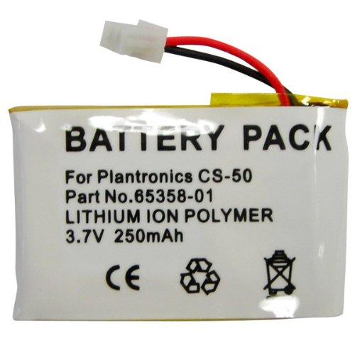 Hitech - Replacement Cordless Phone Battery For Plantronics Cs50, Cs55, Cs60 Wireless Headset