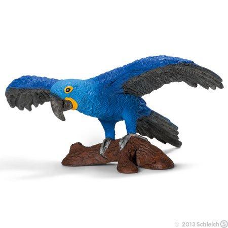 Schleich Hyacinth Macaw Toy Figure