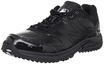 New Balance Men's Baseball Umpire Low Shoe,Black,7 D US
