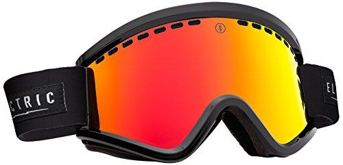Electric Egv Ski Goggles, Gloss Black, Bronze/Red Chrome