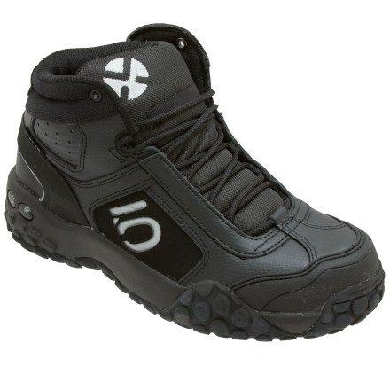 FiveTen Men's Impact 2 Mid Bike Shoe,Black,10.5 M US