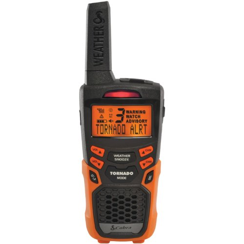Cobra Electronics Cwr 200 Weather And Emergency Alert Radio (Orange)
