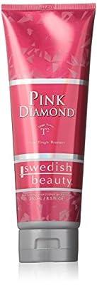 Pink Diamond® T2 Tingle Bronzer Swedish Beauty tanning new lotion package,8.5 oz