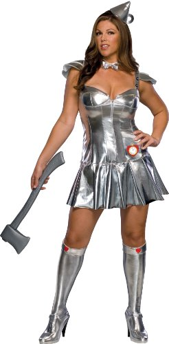 Rubie's Costume Plus-Size Wizard Of Oz Deluxe Tin Man Dress and Accessories
