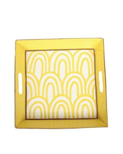 Jayes Scales Square Tray, Yellow