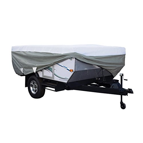 Classic Accessories OverDrive PolyPRO 3 Deluxe Pop-Up Camper Trailer Cover, Fits up to 8' 6
