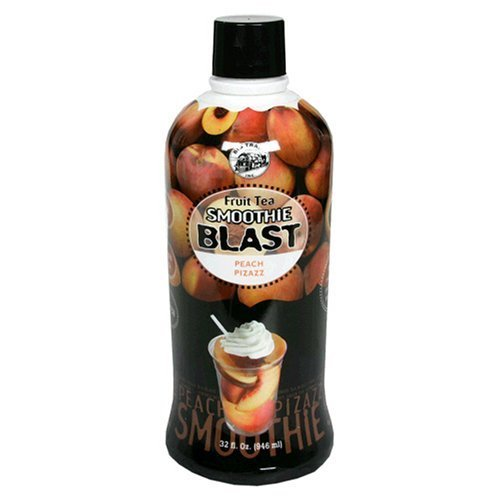 Big Train Peach Smoothie Fruit Super Concentrate, 32-Ounce Units front-61777