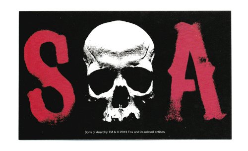 Sons Of Anarchy SOA Sticker