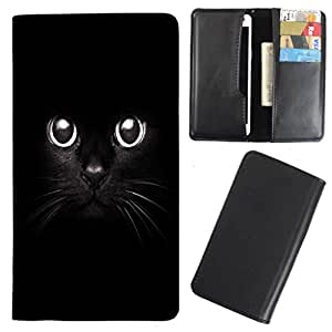 DooDa - For Karbonn S7 Titanium PU Leather Designer Fashionable Fancy Case Cover Pouch With Card & Cash Slots & Smooth Inner Velvet