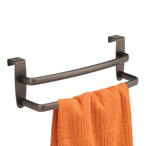 InterDesign Over the Cabinet Double Towel Bar