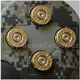 PS3 Controller Bullet Buttons gold, Patronenknöpfe