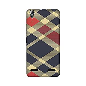 Abhivyakti Pattern Textured Abstract Hard Back Case Cover For Lenovo A6000