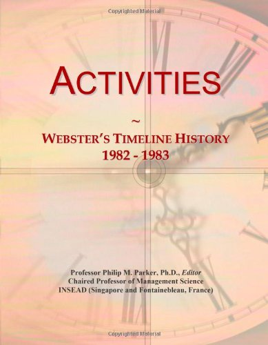 Activities: Webster'S Timeline History, 1982 - 1983