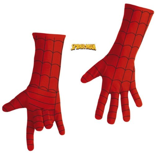 Adult Spiderman Deluxe Gloves