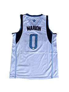 Shawn Matrix Marion Signed Dallas Mavericks Jersey JSA