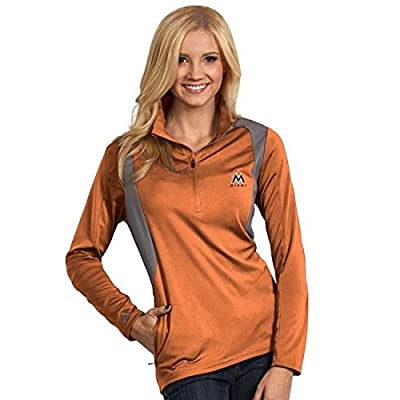 Miami Marlins Ladies Delta Jackets - Mango