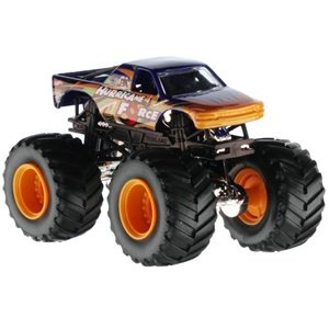 2013 Hot Wheels Monster Jam HURRICANE FORCE 1:64 MAX-D Decade of Maximum Destruction w Crushed Car - 1