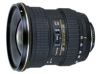 Tokina AF12-24mm  F/4        AT-X 124 PRO DX     Canon