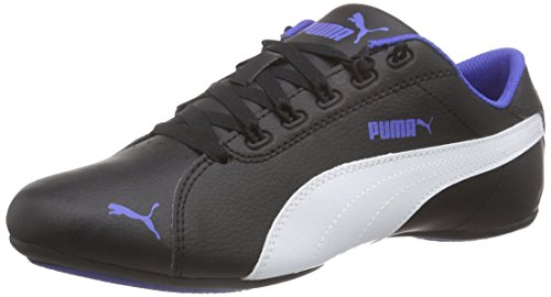 Puma-Girls-Janine-Dance-2-Jr-Black-White-and-Dazzling-Blue-Sneakers-5-UKIndia-21-EU