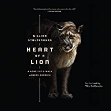 Heart of a Lion: A Lone Cat's Walk Across America Audiobook by William Stolzenburg Narrated by Mike DelGaudio
