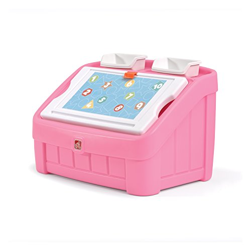 Step2-2-in-1-Toy-Box-and-Art-Lid-Pink