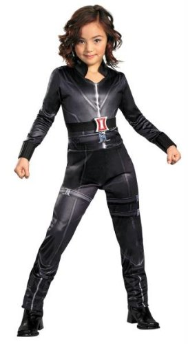 Costumes For All Occasions DG43640L Black Widow Avengers Classic 4