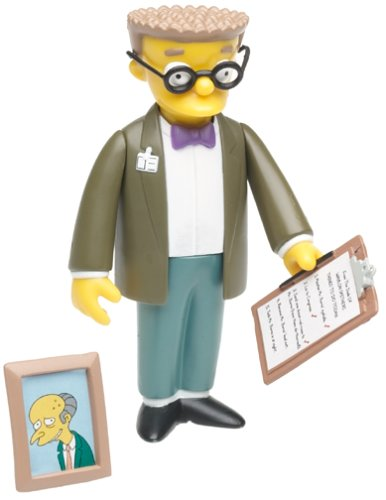 The Simpsons Wave 2 Action Figure Smithers