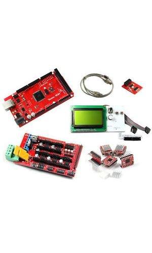 Shanhai Reprap Arduino Compatible Mega2560 Ramps1 4 Stepstick Pololu A4988 Lcd12864 2004