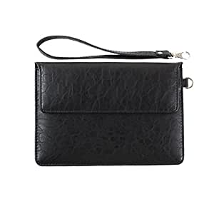 DooDa PU Leather Pouch Case Cover With Magnetic Closure & Video Viewing Stand For ASUS VivoTab RT