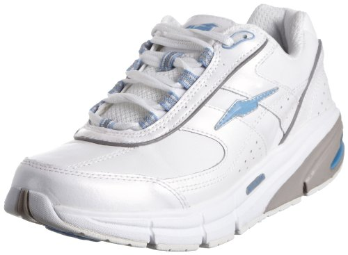 AVIA Women's A9995 Avi-Motion iShape Toning Shoe,White/Grey/Light Blue,8 (Avis Shoes compare prices)