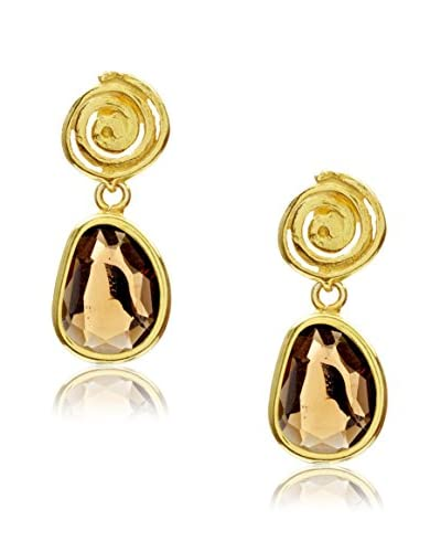 Córdoba Jewels Orecchini Spirale Topazio