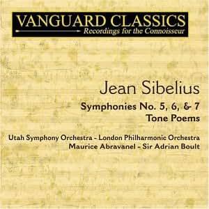 Sibelius : Symphonies n° 5, 6, & 7 ; Finlandia ; Tapiola ; Les Océanides ; Chevauchée nocturne et lever du soleil ; Le Cygne de Tuonela etc