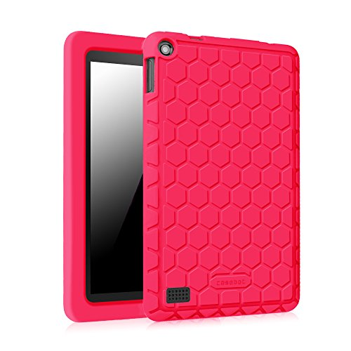 fintie-silicone-case-for-fire-7-2015-honey-comb-series-light-weight-anti-slip-shock-proof-protective