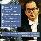 Wilson: Piano Concerto; Starer: Concerto for cello