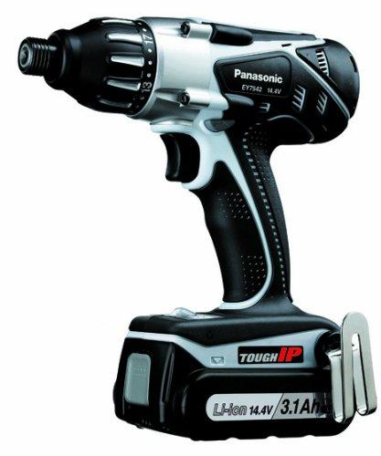 Panasonic EY7542LZ2S 14.4-Volt IP Li-ion Multi Drill & Driver Kit