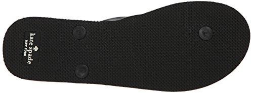 kate spade new york Women's Fifi Flip Flop, Black, 8 M US