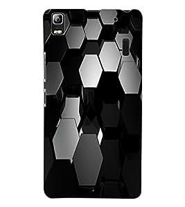 ColourCraft Pattern Design Back Case Cover for LENOVO A7000 PLUS