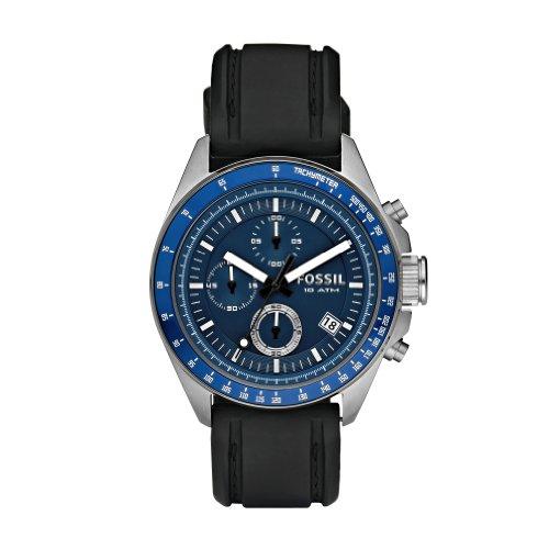 Fossil Decker Blue Chronograph Dial Watch