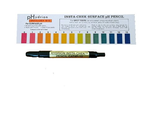 Micro Essential Labs Hydrion (P-12M) Insta-Chek 0-13 Mechanical Ph Pencil