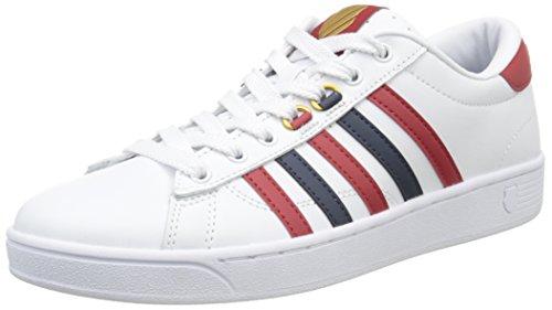 k-swisshoke-cmf-scarpe-da-ginnastica-basse-uomo-bianco-blanc-white-ribbon-red-dress-blues-41