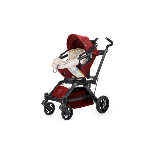 Orbit Baby G3 Stroller Base And Orbit Baby G3 Infant Car Seat And Base, Ruby front-841053