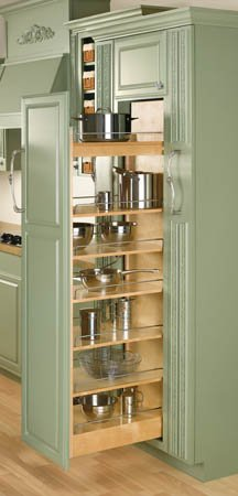 Rev-A-Shelf 448-TP Series Wood Pullout Pantry 5