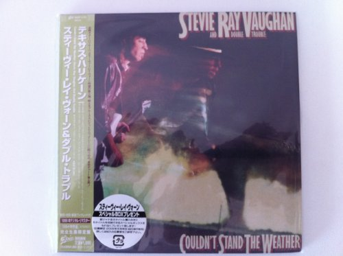 Couldn't Stand The Weather [Japanese papersleeve CD EICP 1174] by Stevie Ray Vaughan