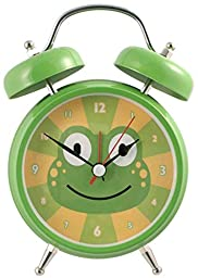 Silent Sweep No Tick Tock Talking Alarm Clock Frog