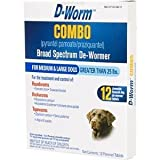 Bio Spot Active Care BioSPOT D-Worm Combo Broad Spectrum For Medium An