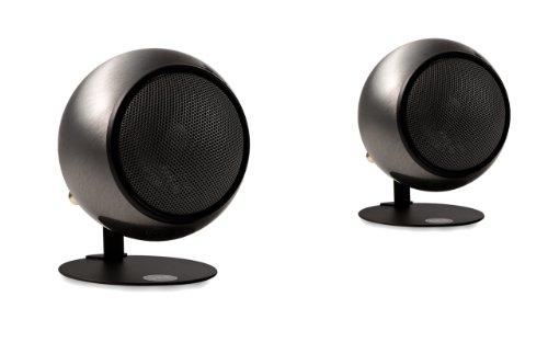 Orb Audio Qp Steel X Mod1X Quickpack Speakers, Hand Polished Steel
