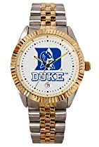 Duke University Blue Devils Mens Executive Stainless Steel Watch