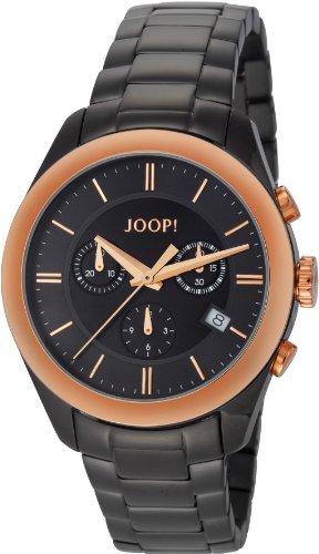 Joop  Aspire - Reloj de cuarzo para hombre, con correa de acero inoxidable, color negro