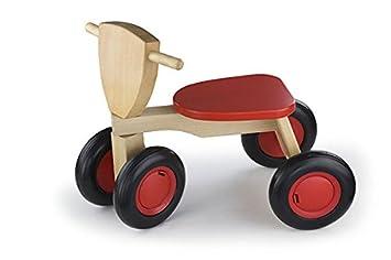 New Classic Toys - 11420 - Tricycle bois de hêtre - Road Star - Rouge